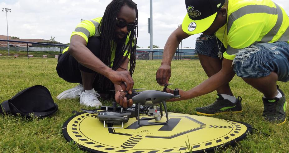 Jamaican  Pilot In Command & Fyah Blaze 1