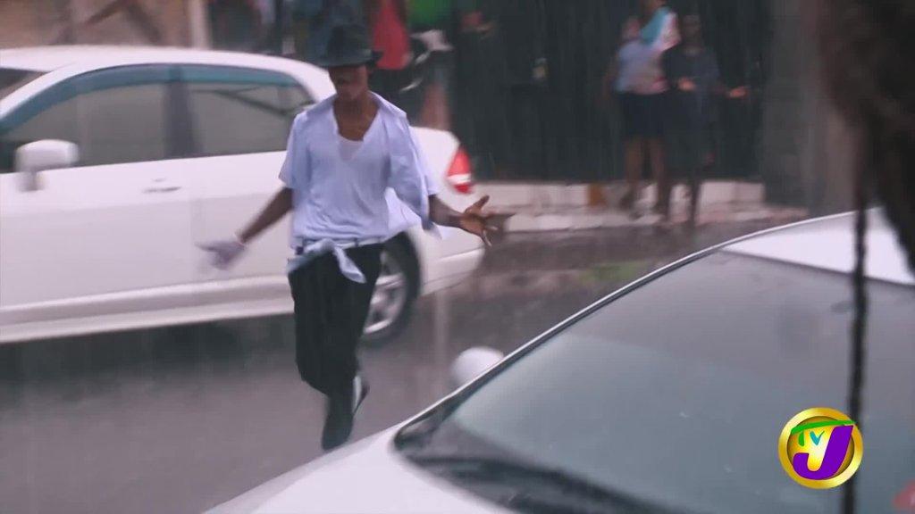 Jamaica's Michael Jackson Ghetto MJ TVJ Entertainment Report Interview