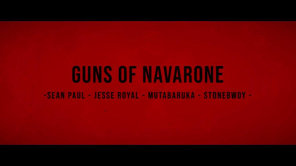 Sean Paul Jesse Royal Stonebwoy Mutabaruka Guns of Navarone Official Music Video